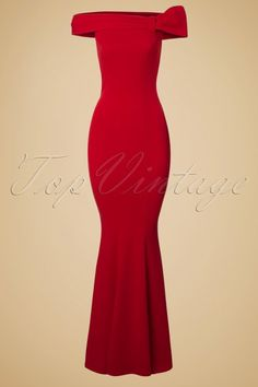 Vintage Chic Red Maxi Off Shoulder Dress 108 20 19652 20160927 0004W