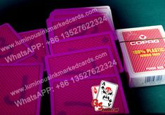 Find the most professional marked cards for a impressing poker magic show or play tricks to impress your friends. Uv Contact Lenses, Invisible Ink, Magic Show, Deck Of Cards, Poker, Light Blue, Playing Cards, Friends, Face