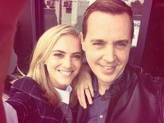 Emily Wickersham and Sean Murray - NCIS #NCIS