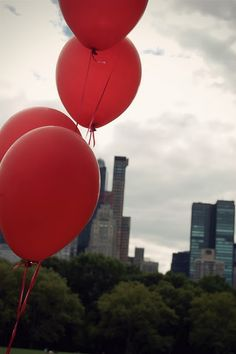 Balloons definitely deserve a place on our Fun Red Things board.  They are…