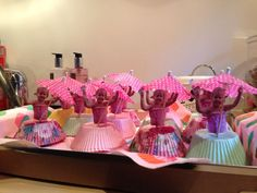 Kinder traktaties. Ballerina cake