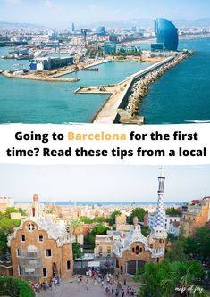 Going to Barcelona for the first time? Read these tips from a local with lots of travel tips for Barcelona Spain. #spain #barcelona #mapofjoy Barcelona Guide, Barcelona Spain, Local Map, Gaudi, The One, Paris Skyline, The Good Place, First Time, Travel Tips