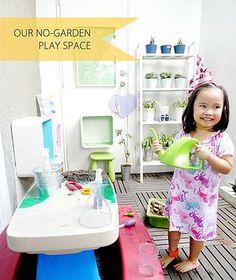 Our No-Garden Play Space