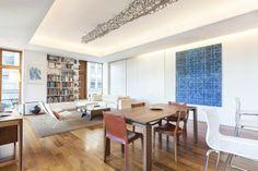 Art Inspired SOHO Apartment - http://www.usualhouse.com/art-inspired-soho-apartment/