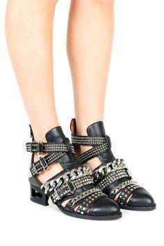 Jeffrey Campbell Shoes NEXT-LEVEL Shop All in Black Silver Black Matte