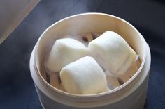 Mantou recipe is a Chinese steam bread/bun recipe that is both simple and delicious. It's Vegan friendly and is a great side dish with any meal.