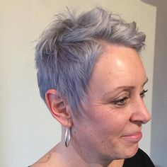 Silver pixie cut! #hairbyalex #thecabinetsalon #bbnetworksalon #bbsemisumo #pravana #silverhair #behindthechair Behind The Chair, Silver Hair, Pixie Cut, Pastels, Salons, Cabinet, Instagram Posts, Silver White Hair, Pixie Haircut