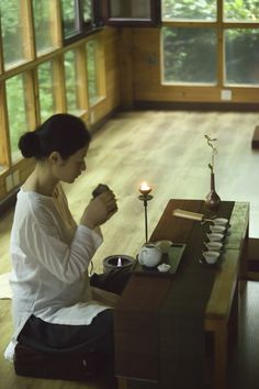 夏安居-茶 影 语录 japanese tea ceremony
