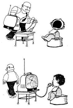 Quino - Potentes, prepotentes e impotentes (Powerful, Arrogant and Impotent) Satire, Discussion Images, Pictures With Meaning, Deep Photos, Satirical Illustrations, Media Literacy, Humor Grafico, Creative Advertising, Teaching Spanish