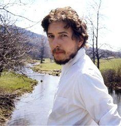 Bob Dylan, Peekskill Hollow Brook, NY, 1970, by John Cohen