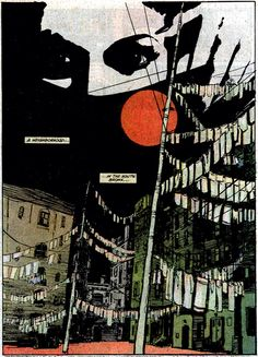 Moon Knight #24, October 1982. Panel Art by Bill Sienkiewicz and Doug Moench