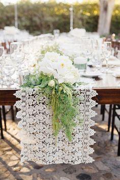 Photographer: Jana Williams Photography; Wedding reception centerpiece idea