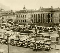 Plaza, Street View, History, City, Paper, Villa De Leyva, Ancient History, Bogota Colombia, Antique Photos