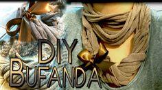 DIY: Bufanda hecha con una t-shirt♥ / scarf made with a t-shirt