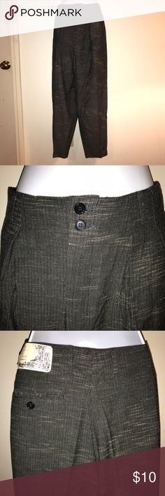 RPM Slacks, NWT RPM Retro Euro Gray Slacks.  Size 32.  New With Tags.  90% Rayon, 10% Cotton.  Made in Taiwan. RPM Pants
