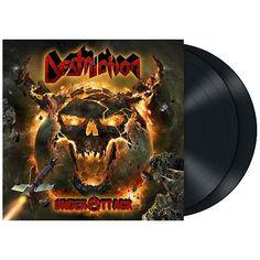 """L'album dei #Destruction intitolato """"Under attack"""" su doppio vinile nero con copertina rigida cartonata gatefold include due bonus track."""