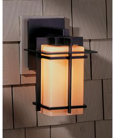 "Tourou 7"" LED 1 Light Outdoor Outdoor Wall Light in Coastal Natural Iron"