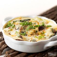 Asparagus, Mushroom And Goat Cheese Egg Breakfast Casserole Recipes ...