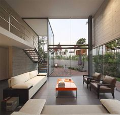 Contemporary Two-Level Residence in La Planicie, Lima, Peru