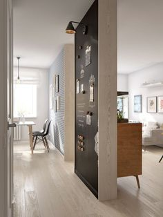 Interior design project for a young couple