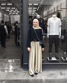New Fashion Inspo Casual Style Ideas Modest Fashion, Trendy Fashion, Fashion Models, Girl Fashion, Fashion Outfits, Style Fashion, Womens Fashion, Casual Hijab Outfit, Ootd Hijab