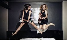 Susanna Hoffs & Vicki Peterson in the March issue of Guitar World