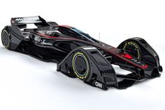 This McLaren MP4 X Formula One Concept Looks Like a Stealth Fighter Jet | Video