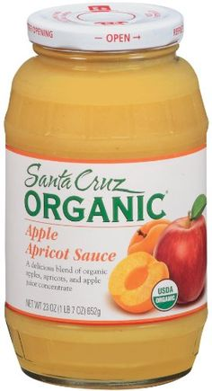 Santa Cruz Organic Apple Apricot Sauce 23 Ounce *** Learn more by visiting the image link. (This is an affiliate link and I receive a commission for the sales)
