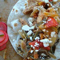 Skillet Chicken Fajitas Recipe - Good Dinner Mom & ZipList