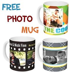 FREE Photo Mug + 40 FREE Prints! {just pay s/h} ~ this might make a fun Father's Day gift!