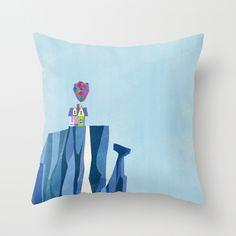 Pixar Up — Paradise Falls Throw Pillow Disney Dorm, Disney Pixar Up, Disney Nursery, Disney Throw Pillows, Hippy Room, Up Theme, Nerd Crafts, Up House, My New Room