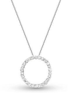 KC Designs Circle Diamond Pendant Necklace at London Jewelers!