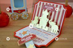 Circo Do Mickey, Clown Nose, Plush Animals, Invitation Ideas, Ideas Party