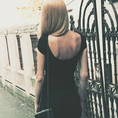 Little black dress Cover Photos, Backless, Street Style, Type 1, My Style, Style Ideas, Facebook, Black, Dresses