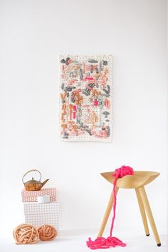 12 DIY Ideas to Get in on the Embroidery Home Decor Trend via Brit + Co