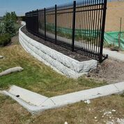 MangumStone™ is a large wet-cast retaining wall system, cleverly engineered with a hollow core. Its hollow design uses nearly half the concrete of a solid system while maintaining all of its strength and durability.  For More visit Us : http://magnumstone.com/