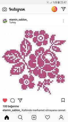 Folk Embroidery, Cross Stitch Embroidery, Cross Stitch Designs, Cross Stitch Patterns, Cross Stitch Geometric, Cross Stitch Flowers, Filet Crochet, Pattern Fashion, Quilt Blocks