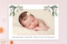 Floral Baby by Lehan Veenker at minted.com