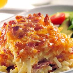 Breakfast Potatoe and Bacon Casserole