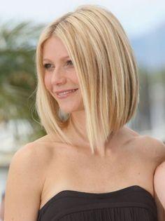 Long A Line Bob Haircut As A Stylish