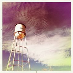 Cameras and water towers do mix