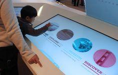 Reception Desk        Digital Airport Information Kiosks Help Travelers Explore Their Destination City - PSFK