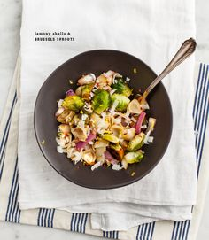 Lemony Wheat Berries with Roasted Brussels Sprouts | Recipe | Sprouts ...