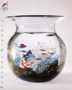 Glass Aquarium Murano