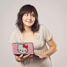Swarovski Hello Kitty Sony Vaio  I soooo love hello kitty