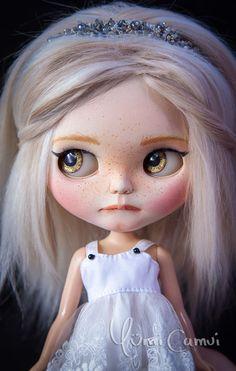 Custom Takara Blythe panenka OOAK Blythe umělecká panenka od Yumi Camui | eBay