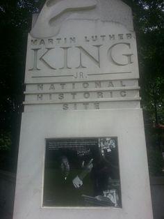 Martin Luther King Jr Historic site in Atlanta, GA
