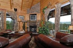Pigeon Forge Pet Friendly Tennessee Vacation Rental! Bring your family for a great retreat to the Smokies. Visit http://www.firesidechalets.com/123.html
