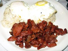 Homemade Tocino. Instead of Ketchup, use regular tomato sauce. Still fantastic and less sodium.