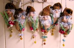 Dotee Dolls : #gnome #Dotee : ♥ these little gnomes!  Too cute!